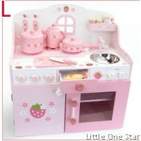 Wooden Toys: Kitchen with Window